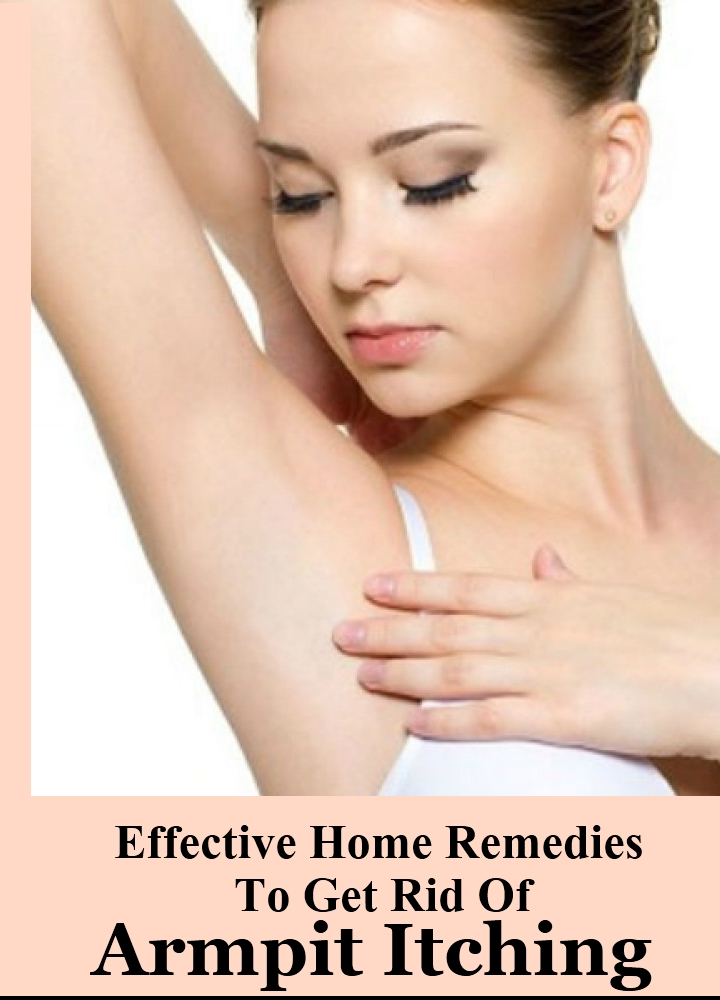 5 Effective Home Remedies To Get Rid Of Armpit Itching