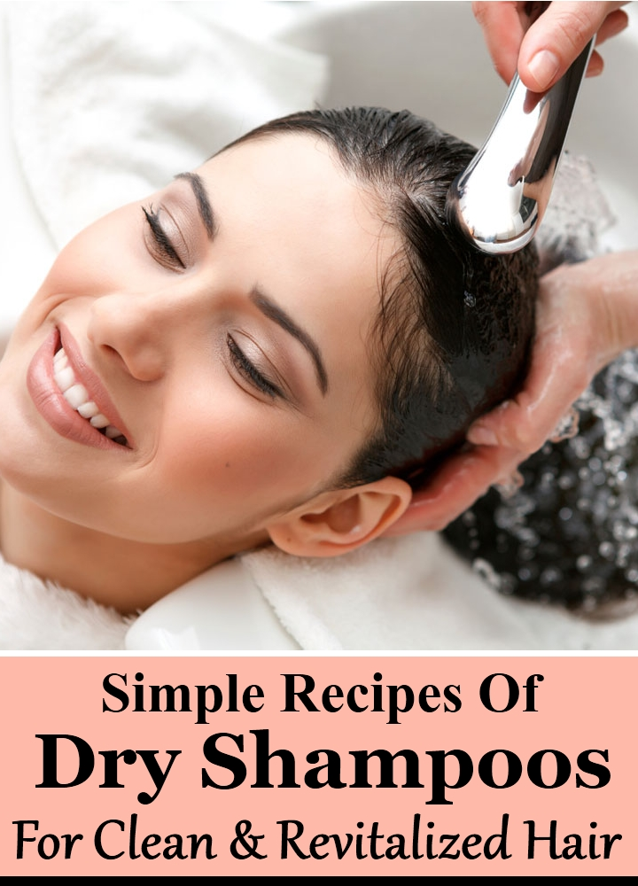 5 Simple Recipes Of Dry Shampoos For Clean And Revitalized Hair