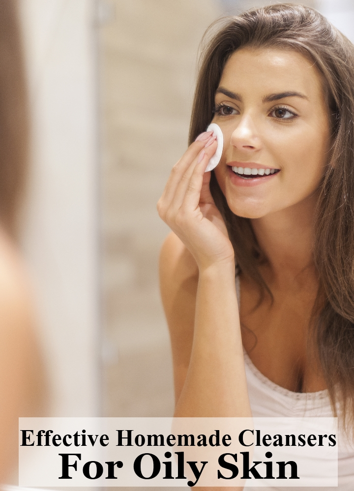 7 Effective Homemade Cleansers For Oily Skin