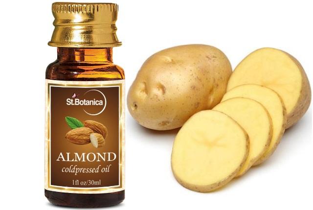 Almond Oil With Potato Juice
