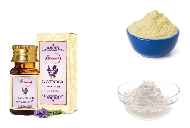 Baking Powder & Lavender Oil Dry Shampoo