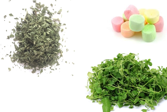 Comfrey, Chickweed And Marshmallow