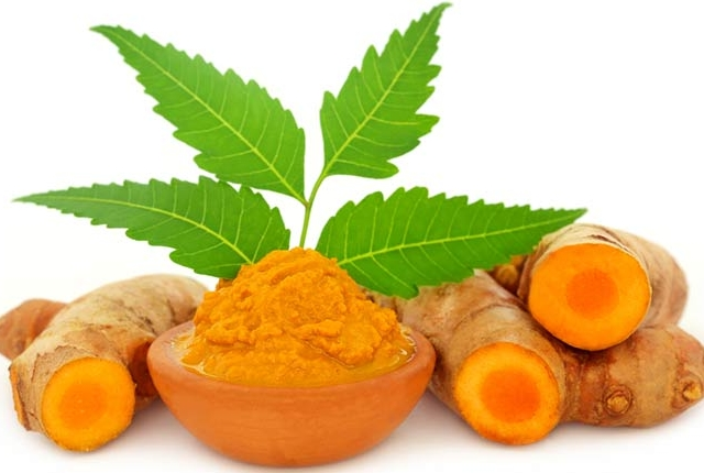 Neem and turmeric
