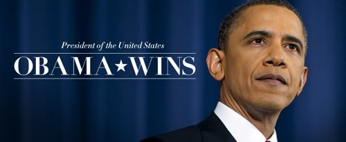 Barack Obama Wins Second Term as President of the United States