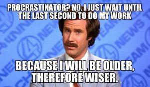 procrastination meme
