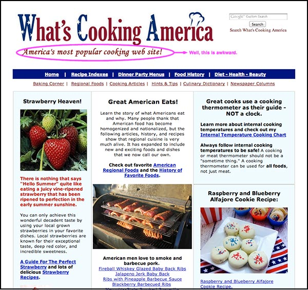 WhatsCookingAmerica-Website