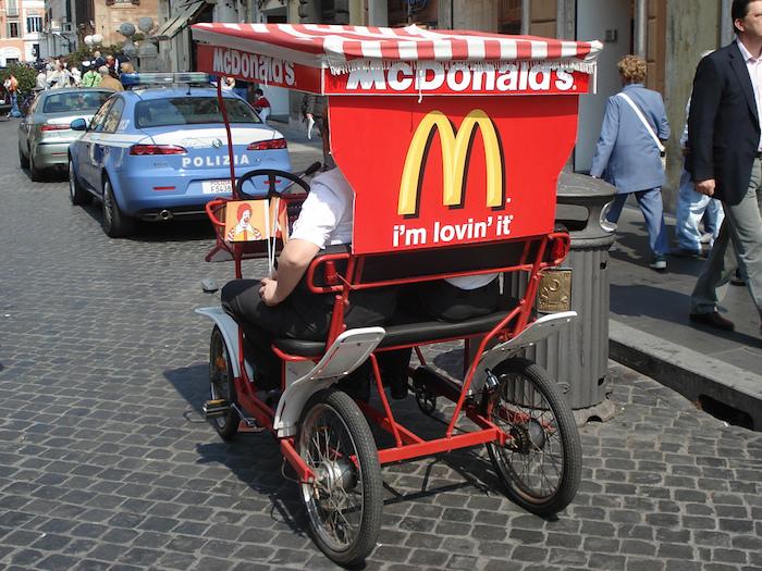 McDonalds Slogan Image Search Influence