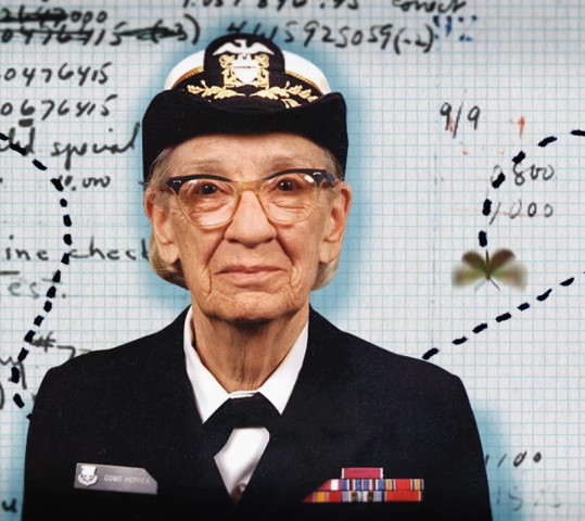 Grace Hopper Portrait Code Press - Search Influence