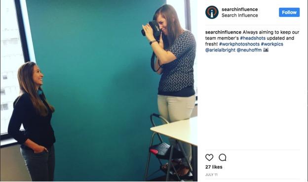 Search Influence Instagram post screenshot