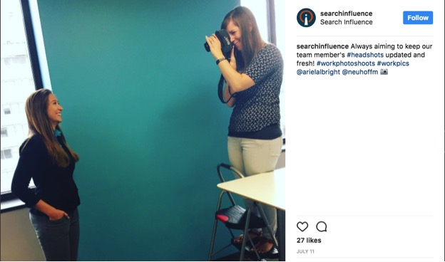 Search Influence Instagram post screenshot