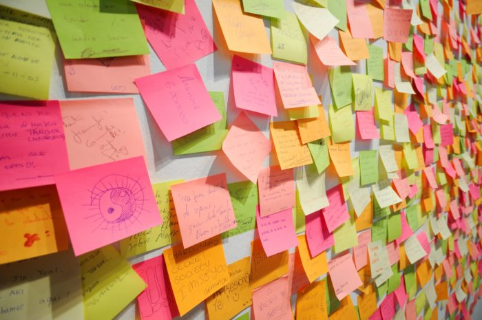 Image Of Post-It Notes - Search Influence