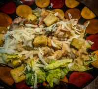 Grilled Mexican Caesar Salad