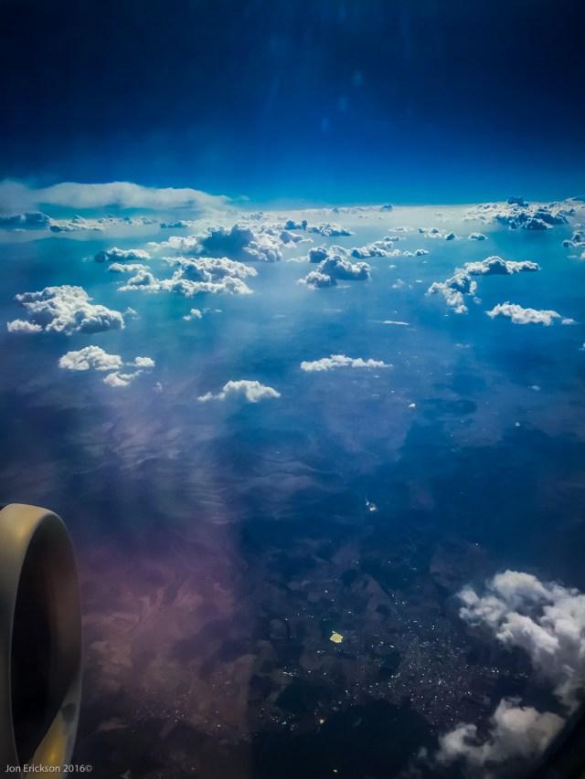 Flying from Morelia to Tijuana