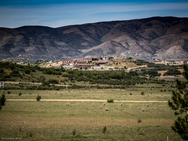 View across the Valle