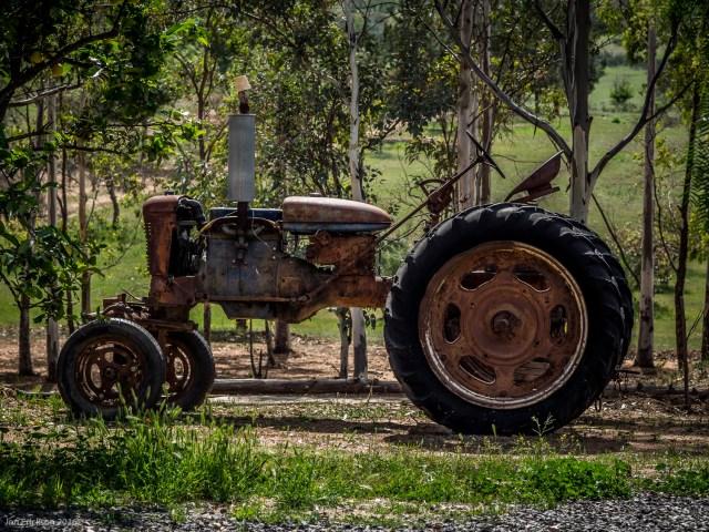 Old Farm Equipment at Casa Mayoral