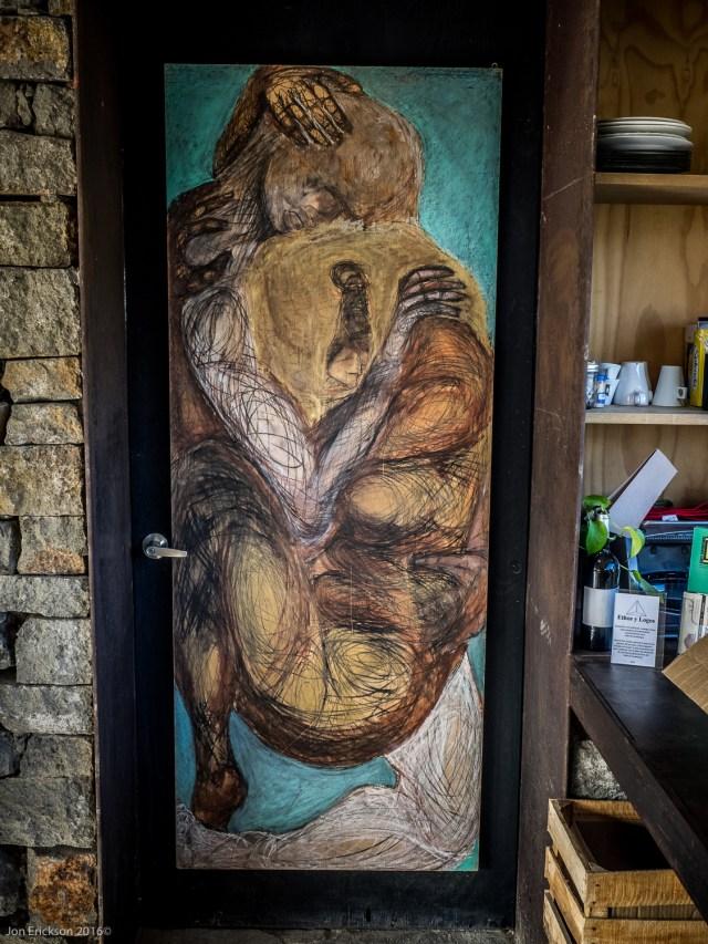 Art Hung by Local Artisians