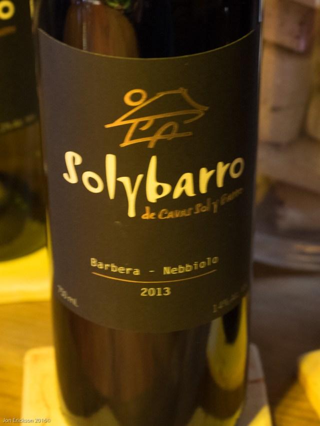 Solybarro Barbera Nebbiolo 2013