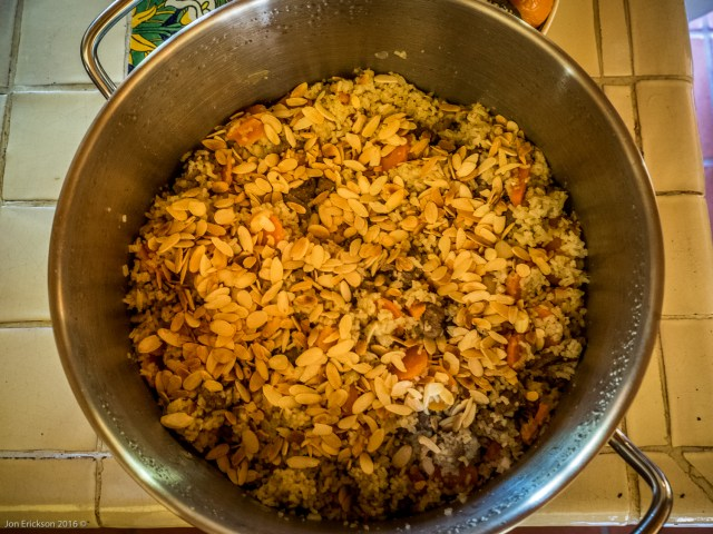 Turkistani Pilaf (Lamb, Carrots, Basmati Rice)