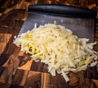 Grated Gruyère