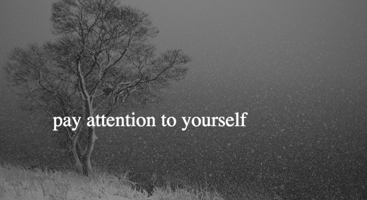 Pay Attention to Yourself