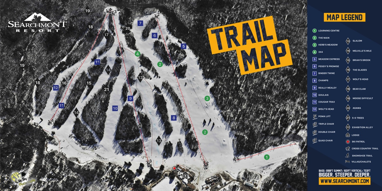 Trail Map  Conditions