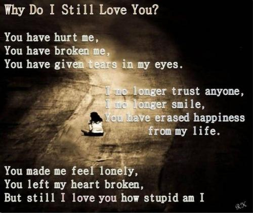 I Love You Even Though You Hurt Me Quotes