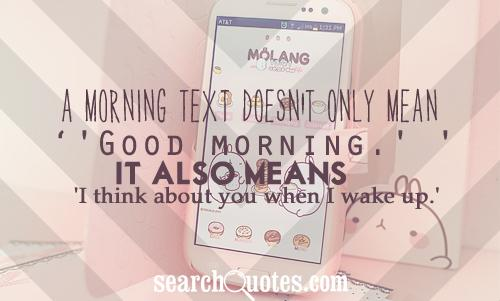 good morning quotes for him