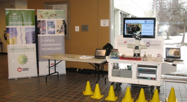 "SEARC assists with ""Smartie"" at Frontenac Lennox and Addington Science Fair"