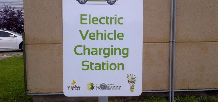 Plug'n Drive Recharges at St. Lawrence College