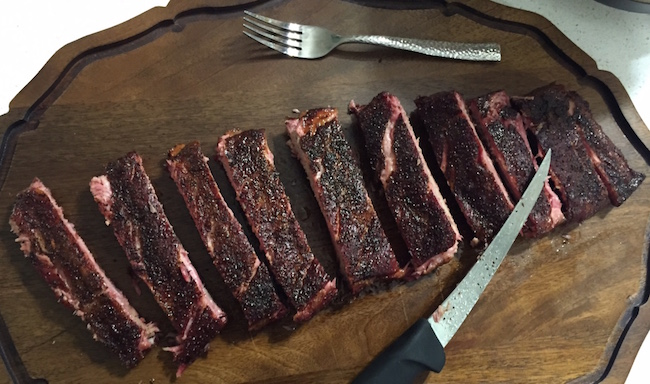 Smoked St. Louis Spare Ribs