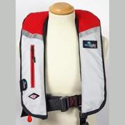 SeaSafe Systems I-Zip 170N LifeJacket - Red & Grey