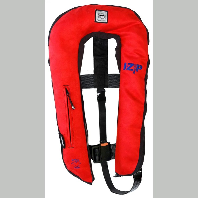 SeaSafe Systems I-Zip 170N Life Jacket - Red Suede