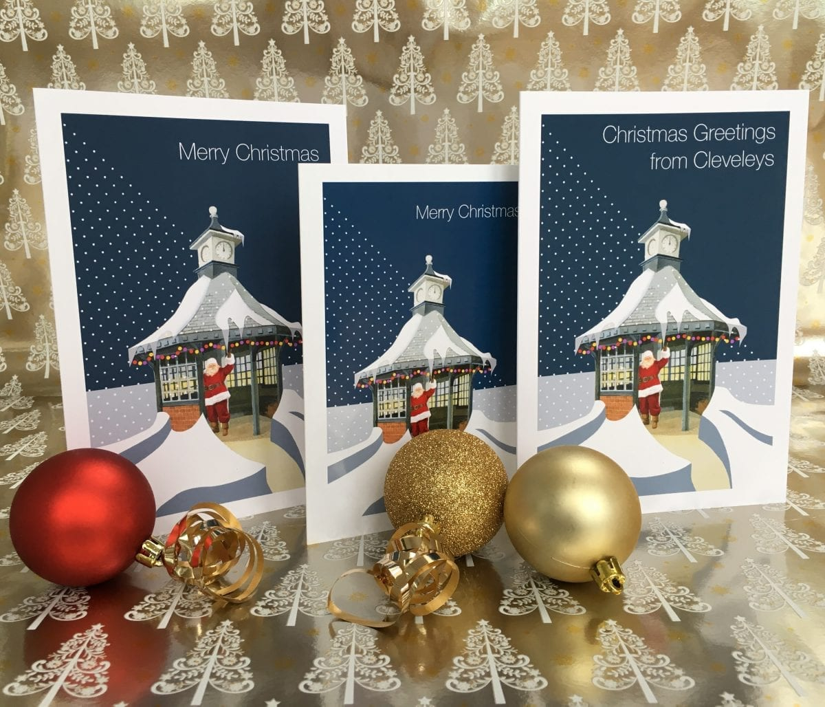 Christmas Card Greetings.Christmas Card Greetings From Cleveleys