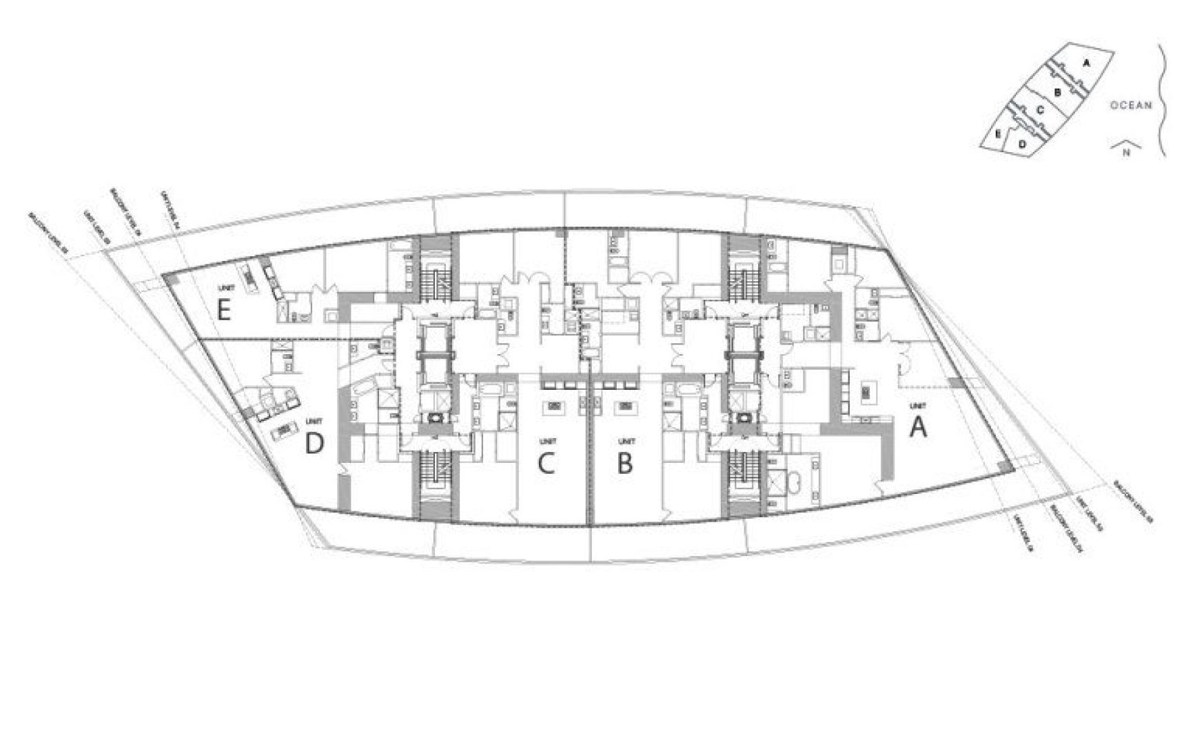 Residences by Armani Casa Siteplan, Luxury Oceanfront