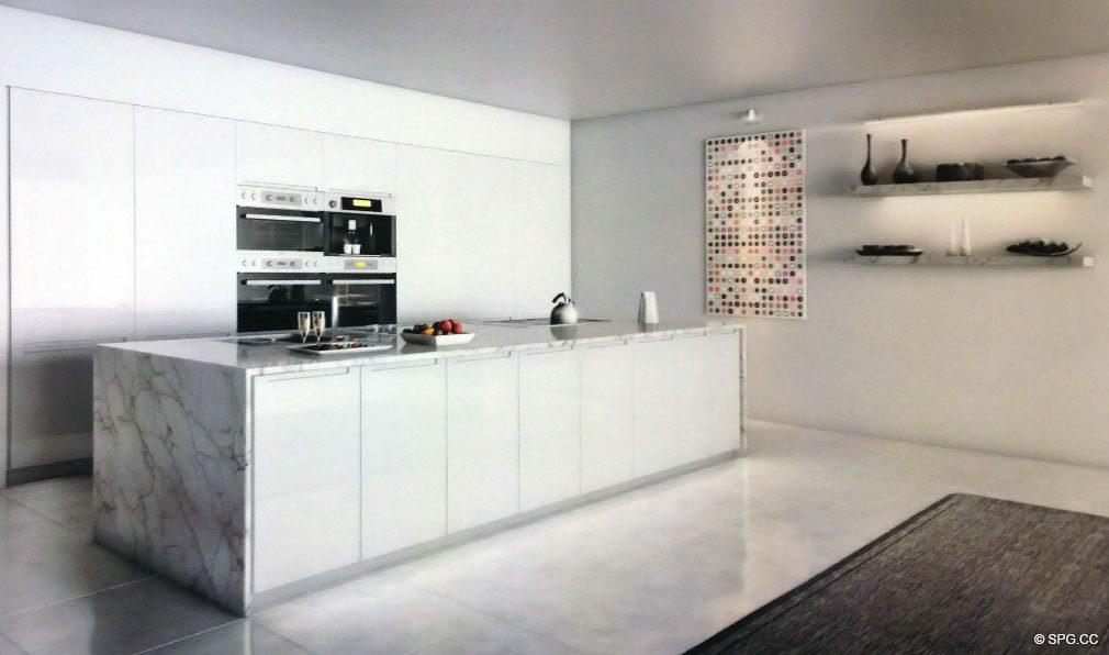 kitchen miami direct 321大洋 豪华公寓房海滨南海滩 厨房在321大洋 豪华海滨公寓位于321的ocean drive 迈阿密海滩