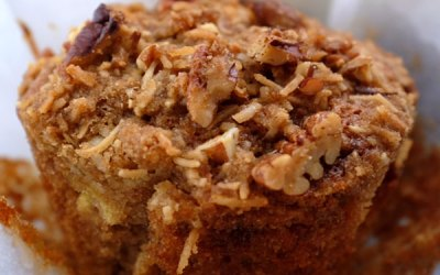 Healthy & Delicious Whole Grain Banana Muffins