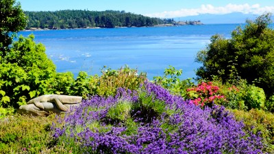 The gardens, sculptures and beautiful views, all add the uniqueness of Sooke Harbor - a true retreat.