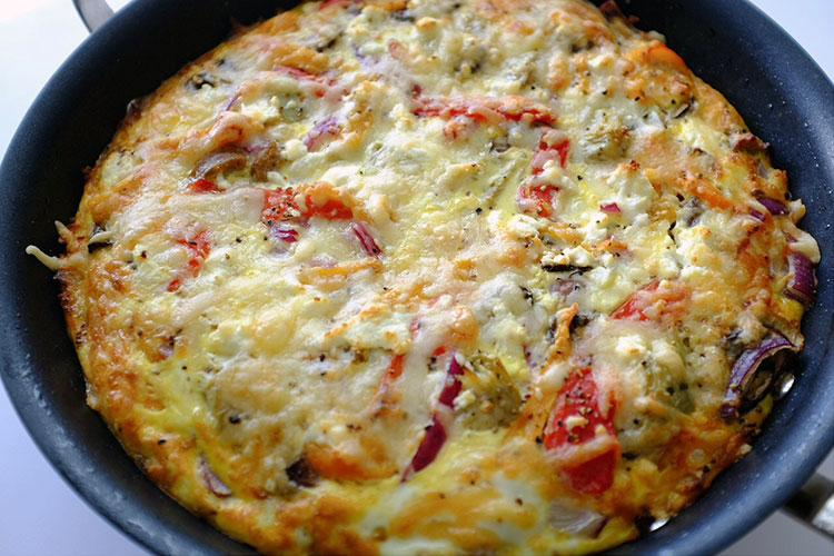 Italian Frittata recipe | seasonalmuse.com