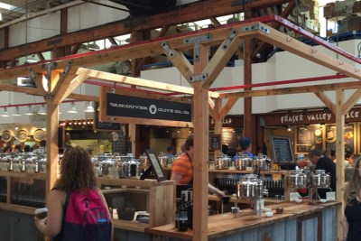 The Market on Granville Island is a must go destination.