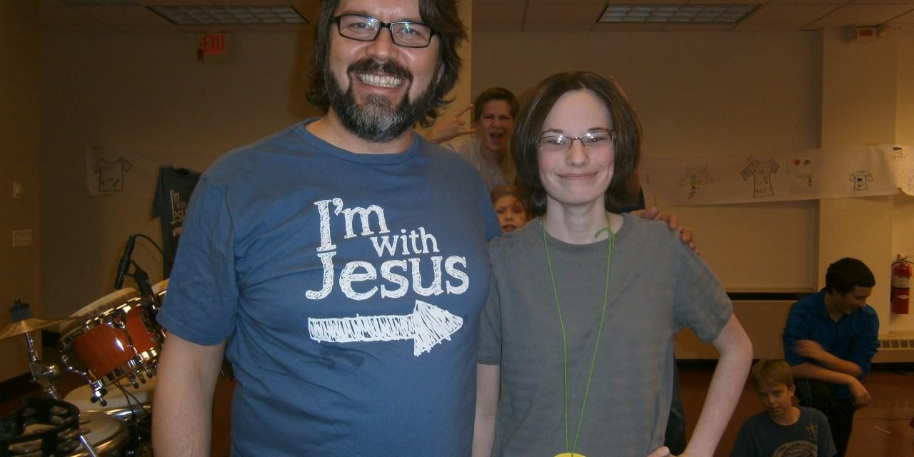 I'm with Jesus