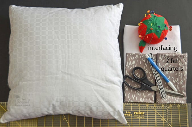 how to make an envelope pillow with a french seam the seasoned homemaker