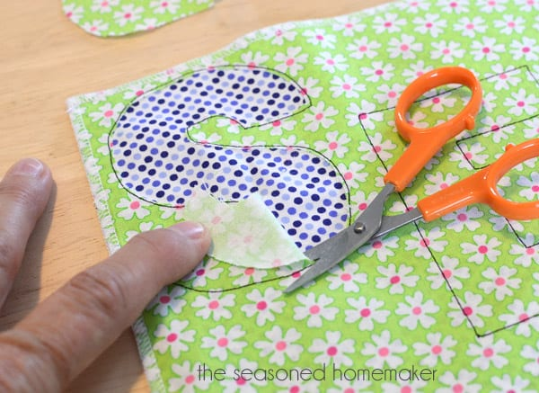 Learn How to Applique Using a Sewing Machine