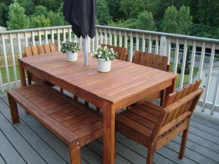 simple outdoor furniture plans