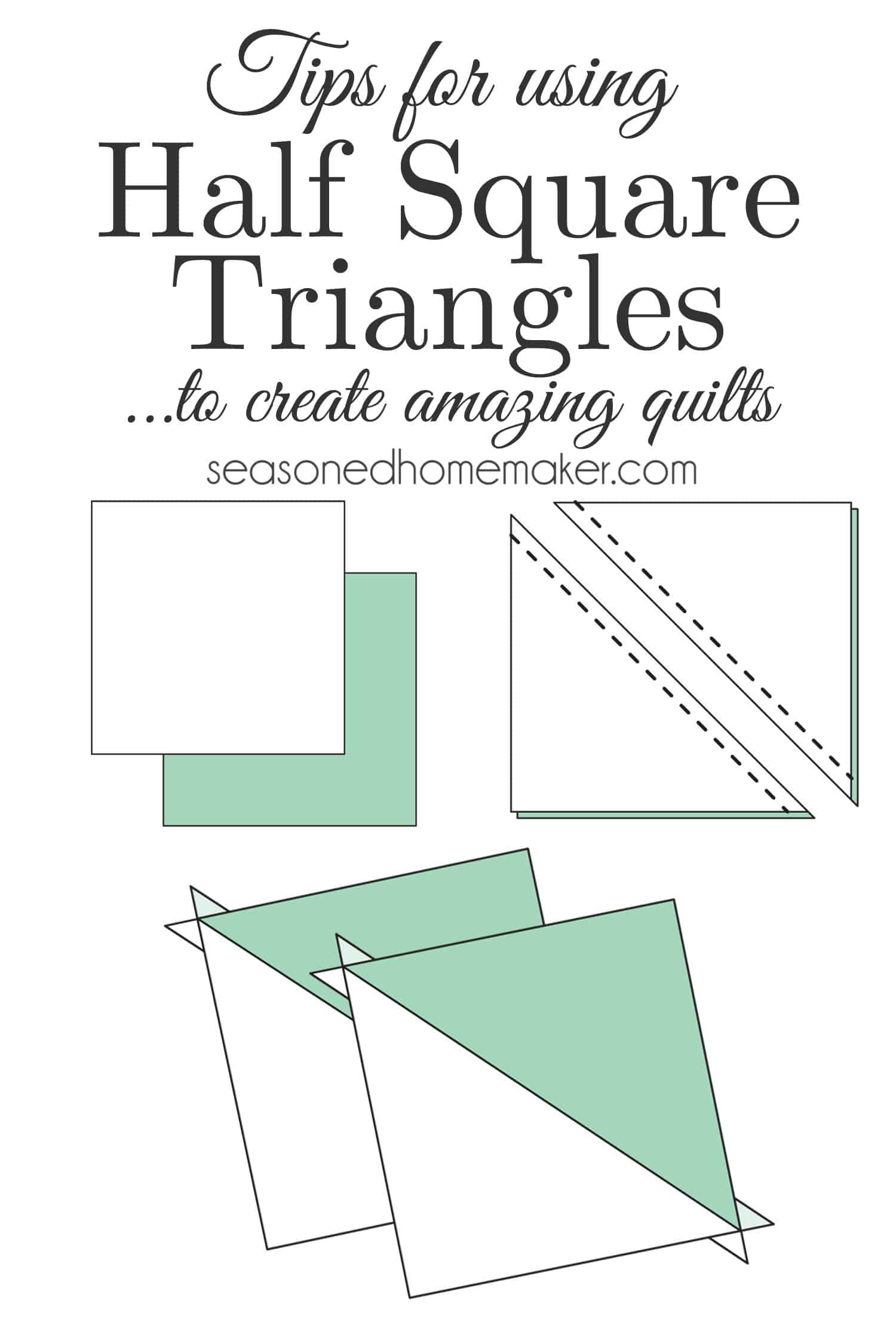 Learning About Half Square Triangles