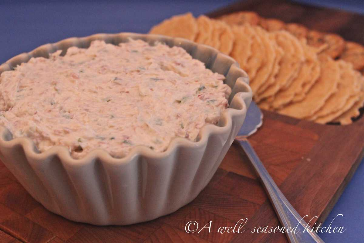 Country Ham Cheese Spread  A Well Seasoned Kitchen