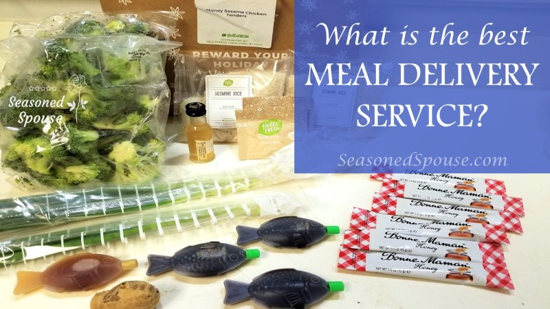 What's the best meal delivery service during deployments? We tried Hello Fresh, Blue Apron, and Chef'D.
