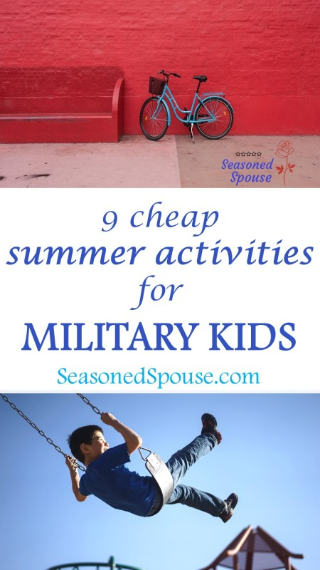 These discounted summer activities for military kids will keep them busy all summer!