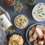 Pintxo Party | Vegetarian pintxos are the perfect menu for a summer time get together! So many options to pair with chilled wine or beer. | SeasonedVegetable.com