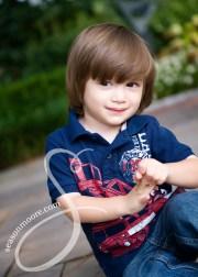 little boy brown hair season