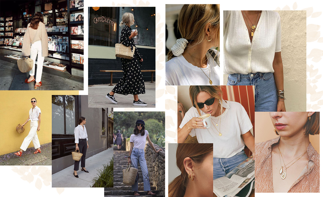 Spring Style Inspiration: White Blouses, Baskets + Outfits to Try